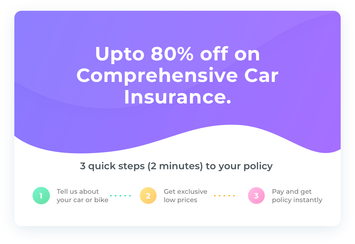 Comprehensive Car Insurance – Acko Insurance