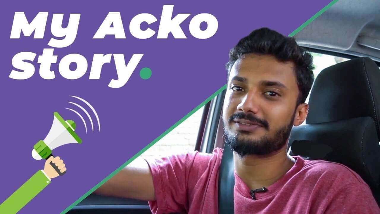Acko Customer Testimonial from Arjun Madaiah