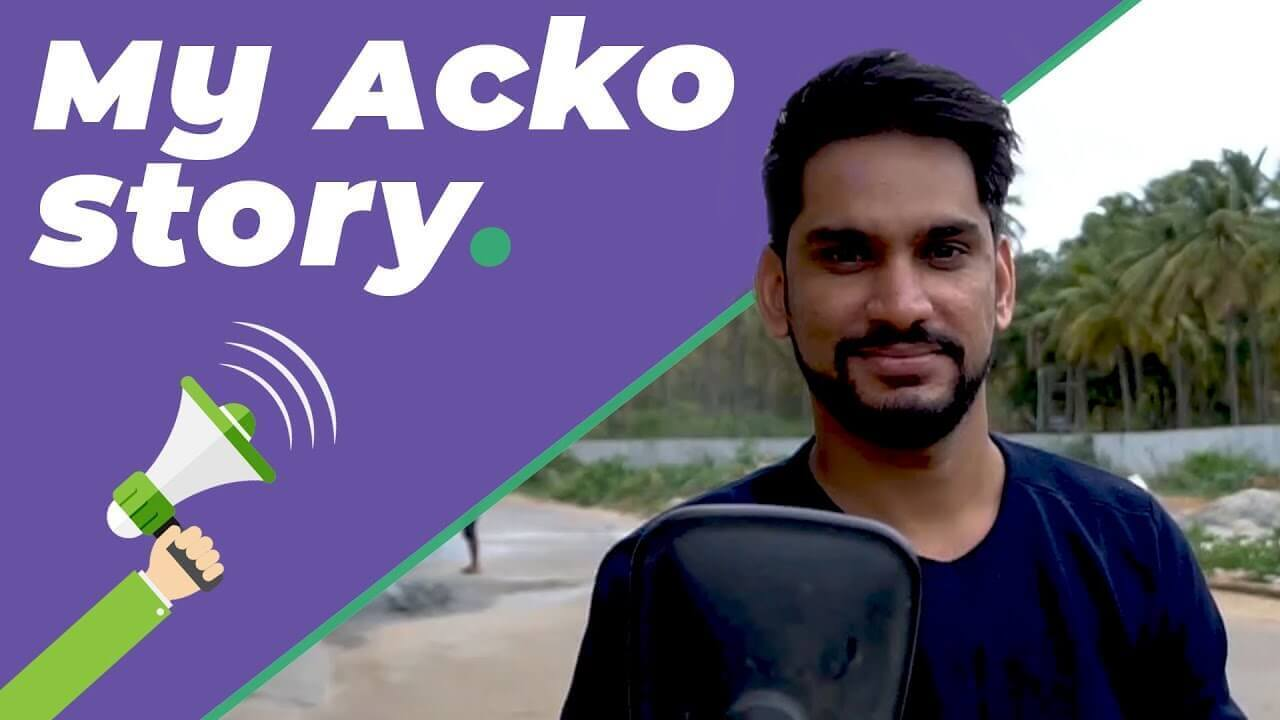 Acko Customer Testimonial from Jay Yadav