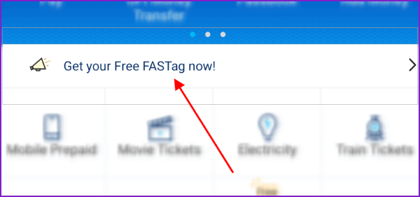 Paytm App for FASTag