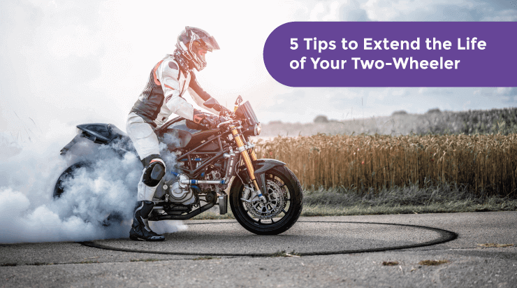 5 Tips to Extend the Life of Your Two-Wheeler
