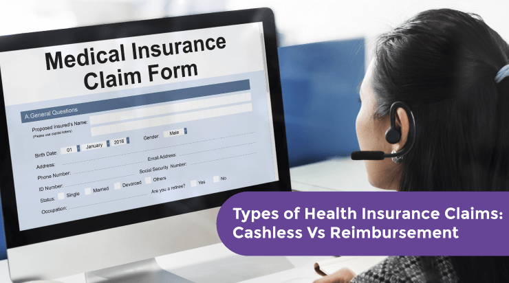 Types of Health Insurance Claims: Cashless Vs Reimbursement - Acko