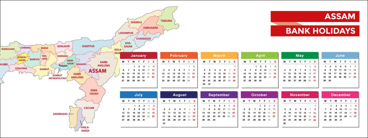 Assam Bank Holidays List 2021 - Acko