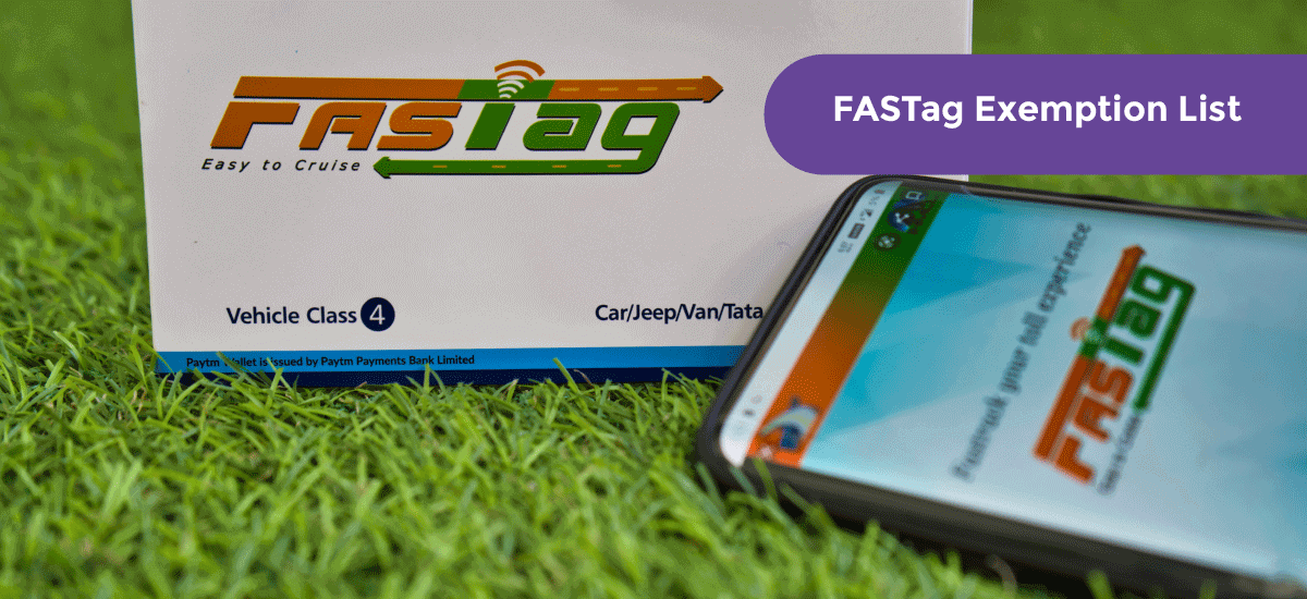 FASTag Exemption List – Exempted FASTag Online Process - Acko