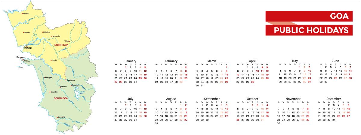 Goa Public Holidays List 2020 - Acko