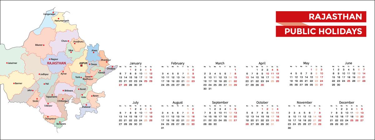 Rajasthan Public Holidays List 2020 - Acko