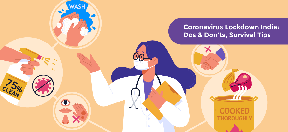 Coronavirus Lockdown India: Dos & Don'ts, Survival Tips - Acko