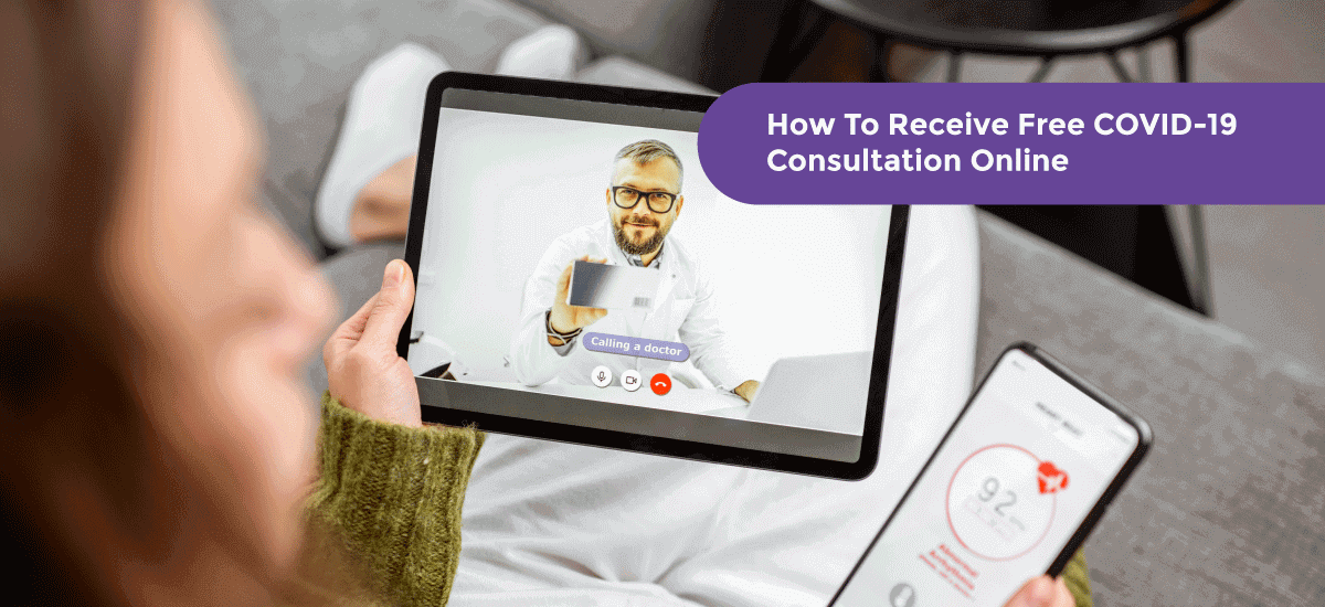 How To Receive Free COVID-19 Consultation Online - Acko