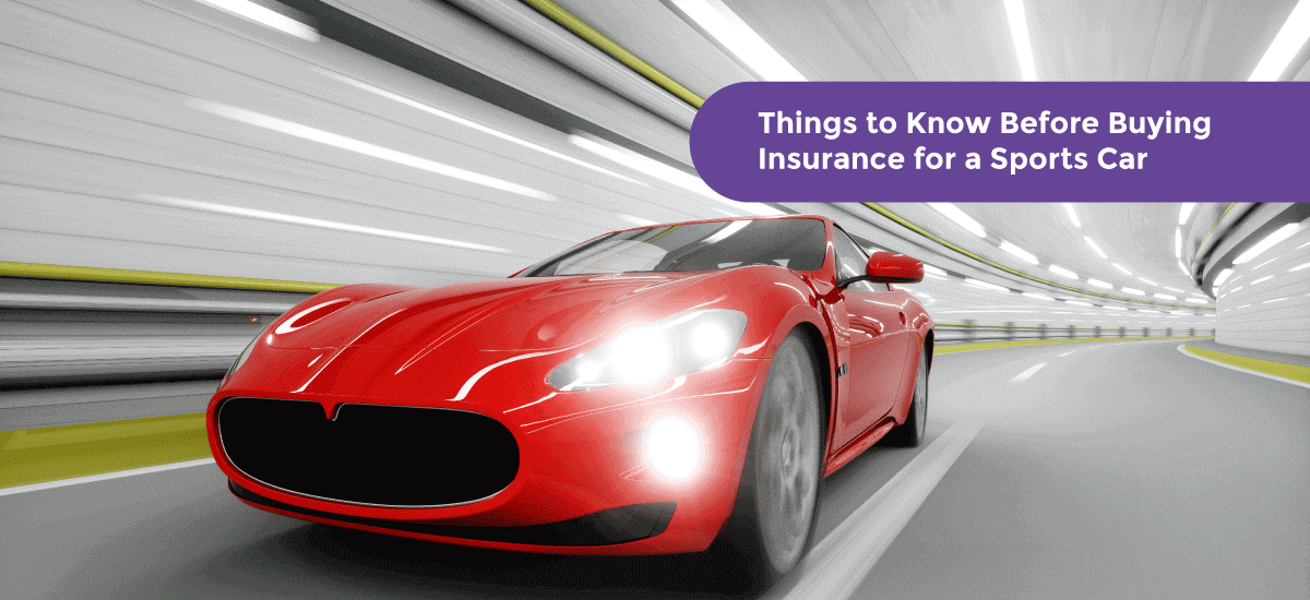 6 Things to Know Before Buying Insurance for A Sports Car - Acko