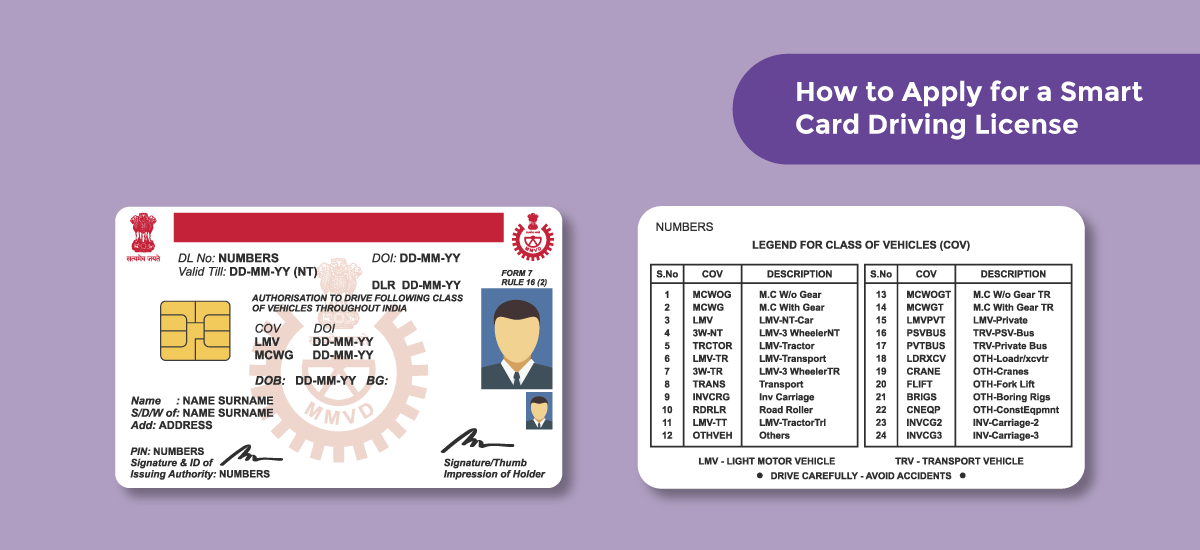 How to Apply for a Smart Card Driving License - Acko