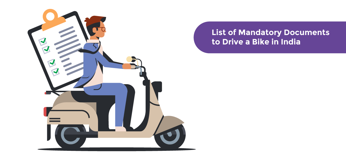 List of Mandatory Documents to Ride a Bike in India - Acko