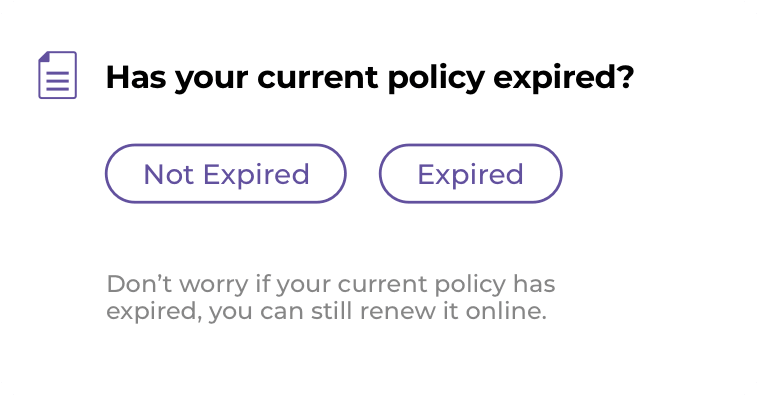 Policy Expired