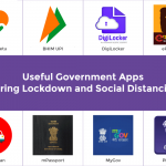 Useful Government Apps During Lockdown and Social Distancing
